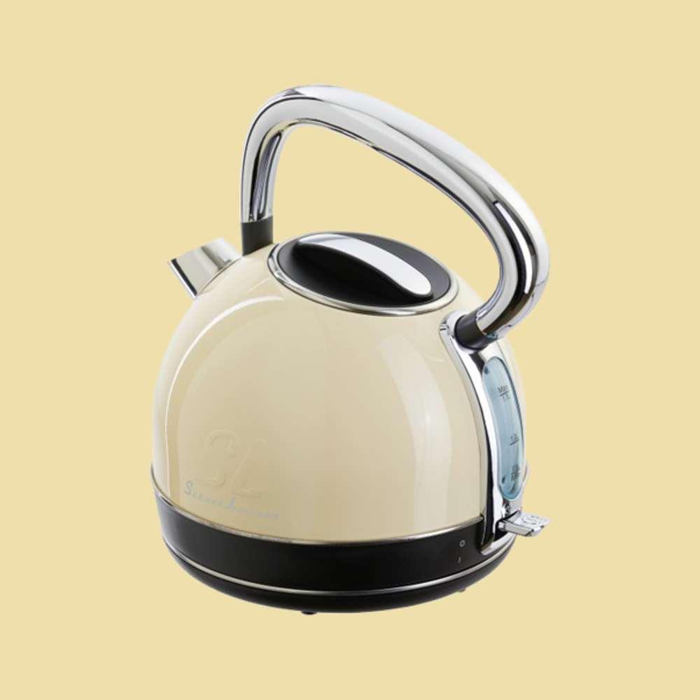 schaub lorenz wasserkocher sl w1 sc 1 7 liter 2200 watt creme ebay. Black Bedroom Furniture Sets. Home Design Ideas