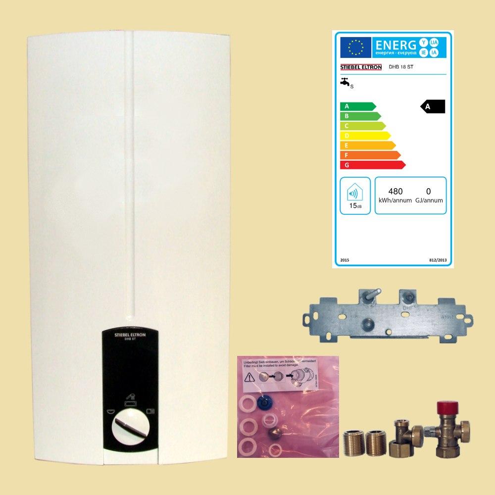 stiebel eltron durchlauferhitzer dhb 18 st elektronisch 18 kw made in germany ebay. Black Bedroom Furniture Sets. Home Design Ideas