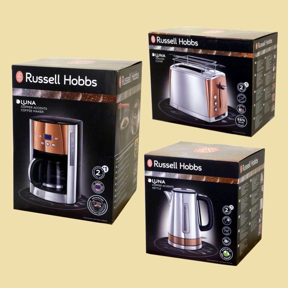Russell Hobbs 24280 70 Luna Copper Accents Wasserkocher